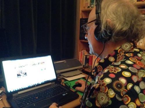 Eddy Bonte working