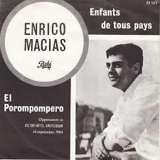 Enrico Macias Enfantsdetouspays pochette