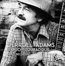 derroll adams banjo troubadour LP