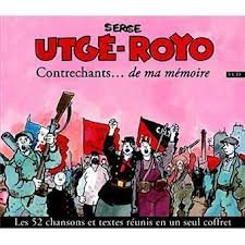 Serge Utgé-Royo Contrechants cd