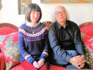 Delphine Lecompte en Eddy Bonte van Radio 68