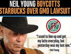 Neil Young Monsanto Starbucks