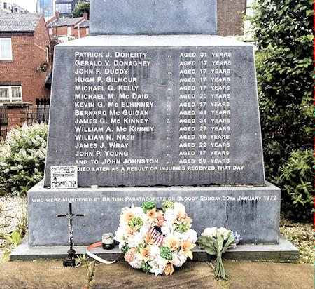 Bloody Sunday Monument, Derry, Northern Ireland