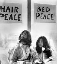 John and Yoko bed peace