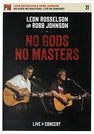 Robb Johnson Rosselson No gods no masters poster