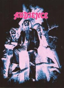 Audience, the first LP, 1969,