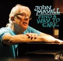 John Mayall Find A Way to Care cover