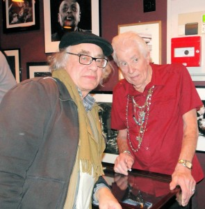 John Mayall and Radio 68's Ed at Ronnie Scott's
