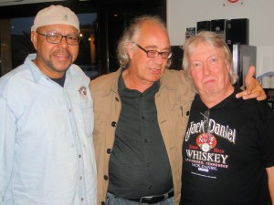 Norman Beaker (right) and Larry Garner (left) with Radio 68's Ed PHOTObyEBonte