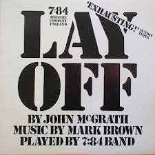 784 Theatre Co Lay Off LP Cover