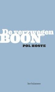 Pol Hoste cover verzwegen boon