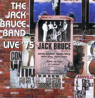 jack bruce band live cd