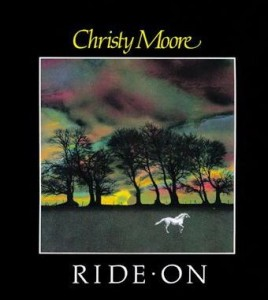 Christy Moore Ride On cover