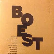 BOEST poëzie LP cover