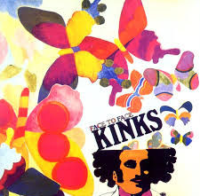KINKS FacetoFace LP Sleeve