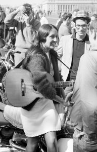 Joan Baez, March On Washington 1963; picture Jan Faul